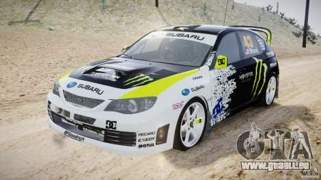 Subaru Impreza WRX STi 2009 Ken Block pour GTA 4