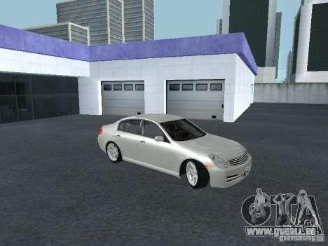 Nissan Skyline 300 GT pour GTA San Andreas vue arrière