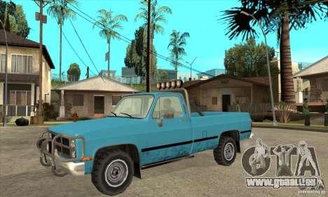 GMC Sierra 2500 pour GTA San Andreas