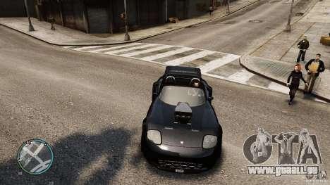 Blue Neon Banshee für GTA 4 rechte Ansicht