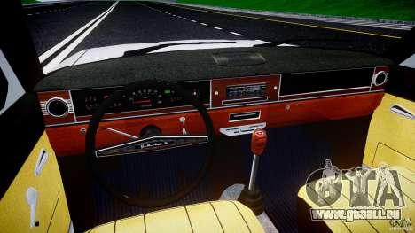 GAZ 24-12 1986-1994 Stock Edition v2.2 pour GTA 4 vue de dessus