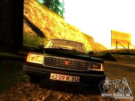 Volga GAZ 31029 pour GTA San Andreas vue intérieure