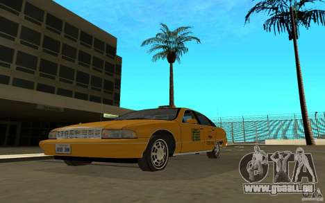 Chevrolet Caprice taxi für GTA San Andreas
