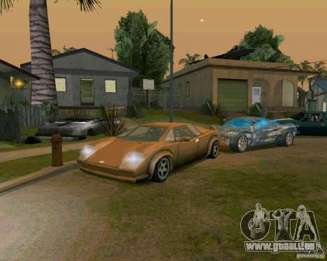 Infernus from Vice City pour GTA San Andreas
