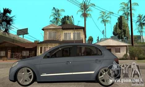 Volkswagen Gol G5 pour GTA San Andreas laissé vue