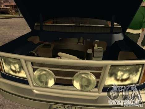 HD Columb pour GTA San Andreas vue de droite