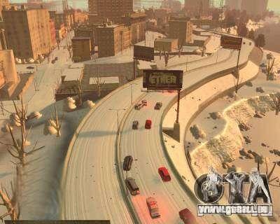 Pluie verglaçante pour GTA 4 quatrième écran