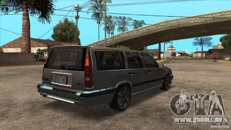 Volvo 850 R pour GTA San Andreas vue de droite