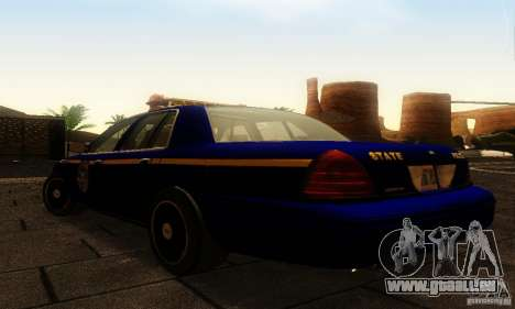 Ford Crown Victoria New York Police für GTA San Andreas linke Ansicht