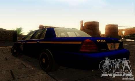 Ford Crown Victoria New York Police für GTA San Andreas linke Ansicht