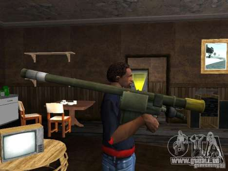 MANPADS Nadel 2 für GTA San Andreas zweiten Screenshot