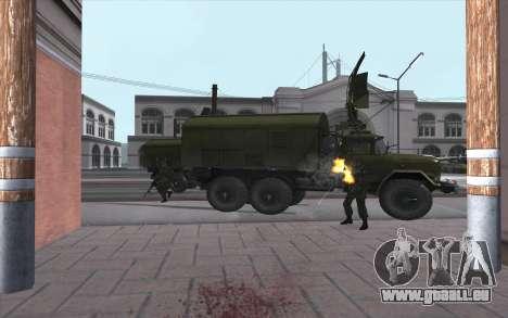 ZIL-131 RPR-7 pour GTA San Andreas laissé vue
