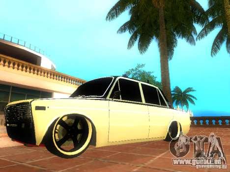 Style de VAZ 2106 dag pour GTA San Andreas laissé vue
