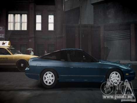 Nissan 240SX pour GTA 4 Vue arrière de la gauche