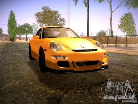 Porsche 911 für GTA San Andreas zurück linke Ansicht