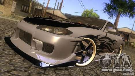 Nissan Silvia S15 Logan pour GTA San Andreas vue de côté