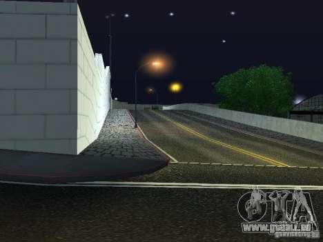 Voitures neuves de Wang-Salon de l'Auto pour GTA San Andreas troisième écran