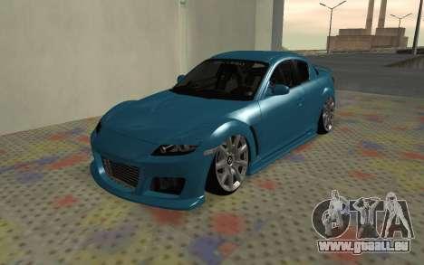 Mazda RX8 VIP für GTA San Andreas