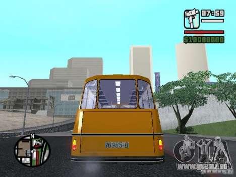 TV 7 pour GTA San Andreas sur la vue arrière gauche