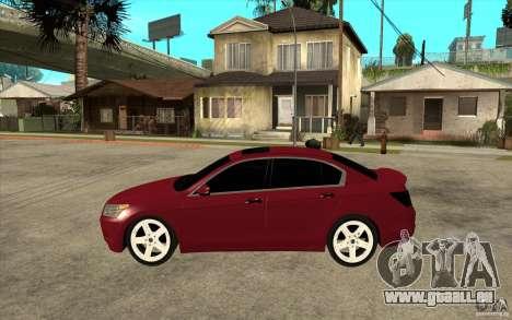 Honda Accord 2008 v2 pour GTA San Andreas laissé vue
