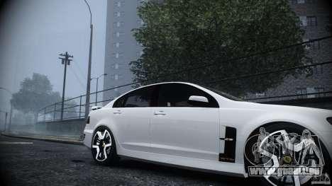 Holden HSV GTS pour GTA 4 est un droit