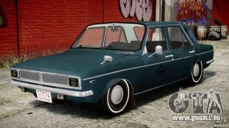 Peykan 1348 1970 pour GTA 4 est un côté