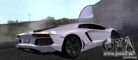 Lamborghini Aventador LP700-4 Final pour GTA San Andreas laissé vue