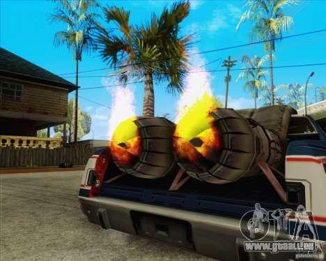 Trailblazer from FlatOut2 pour GTA San Andreas vue arrière