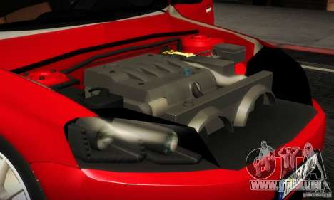 Volkswagen Passat B7 2012 pour GTA San Andreas vue intérieure