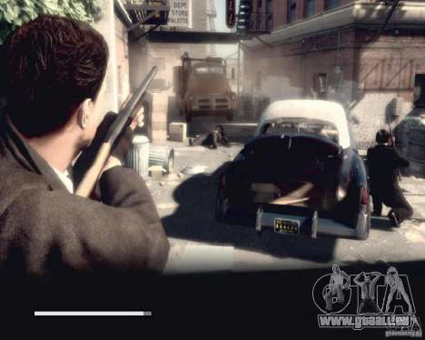 Bildschirme von Mafia 2 laden für GTA San Andreas neunten Screenshot