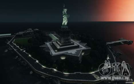 Menü- und Boot-Bildschirme von Liberty City in G für GTA San Andreas
