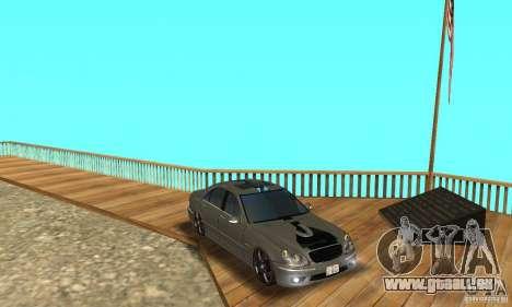 Mercedes Benz AMG S65 DUB pour GTA San Andreas vue de côté