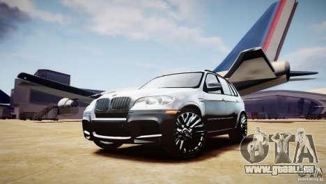 BMW X5M 2011 für GTA 4 Innenansicht
