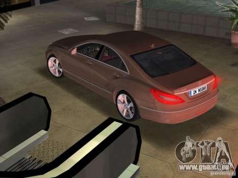 Mercedes-Benz CLS350 pour une vue GTA Vice City de la gauche