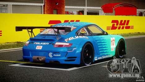 Porsche GT3 RSR 2008 für GTA 4 Seitenansicht