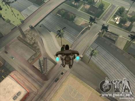 Sauter le Jet pack pour GTA San Andreas deuxième écran