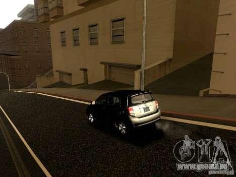 Scion xD pour GTA San Andreas vue de dessus