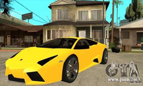 Lamborghini Reventon für GTA San Andreas