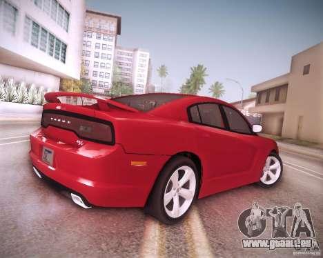 Dodge Charger 2011 v.2.0 pour GTA San Andreas vue de dessous