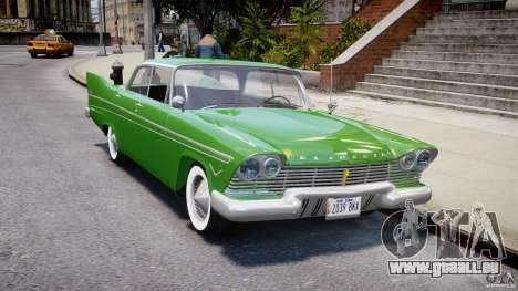 Plymouth Belvedere 1957 v1.0 für GTA 4 Innenansicht
