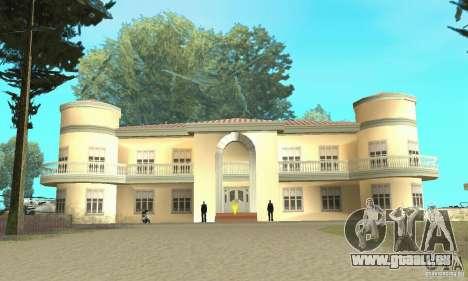 Une Villa pour GTA San Andreas troisième écran