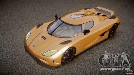 Koenigsegg Agera v1.0 [EPM] für GTA 4 obere Ansicht