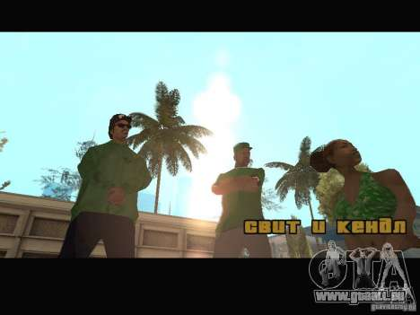 New Sweet, Smoke and Ryder v1.0 für GTA San Andreas achten Screenshot