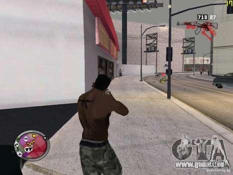 Nouvelle zone GANGSTER pour GTA San Andreas douzième écran
