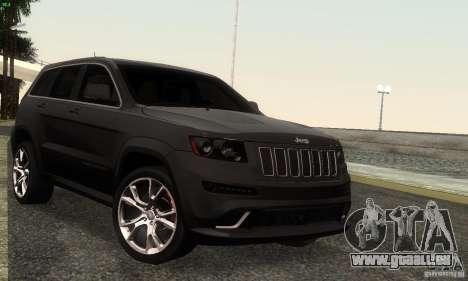 Jeep Grand Cherokee SRT8 pour GTA San Andreas