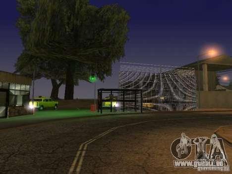 Le premier taxi parc version 1.0 pour GTA San Andreas cinquième écran