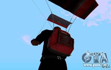 Le nouveau parachute pour GTA San Andreas cinquième écran