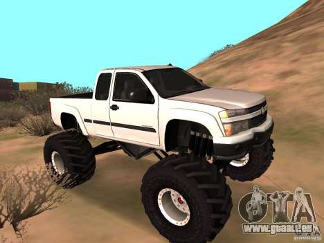 Chevrolet Colorado Monster pour GTA San Andreas