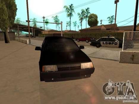 VAZ 21099 Limousine pour GTA San Andreas vue intérieure
