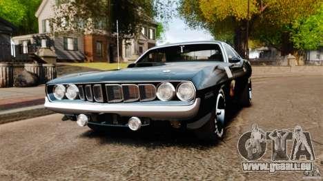 Plymouth Cuda 1971 [EPM] Mopar für GTA 4